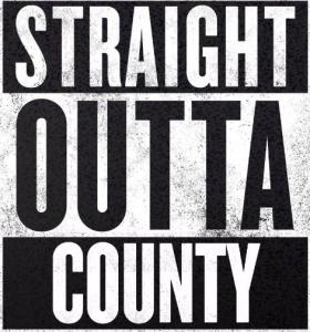 straight outta county logo