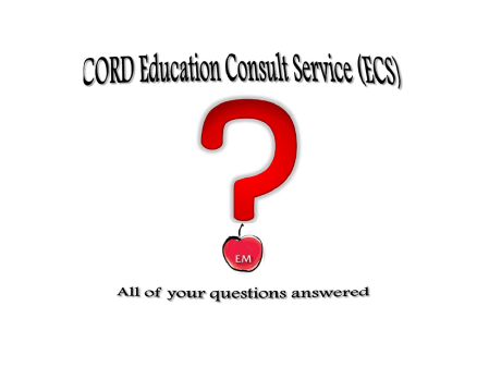 CORD education consult service